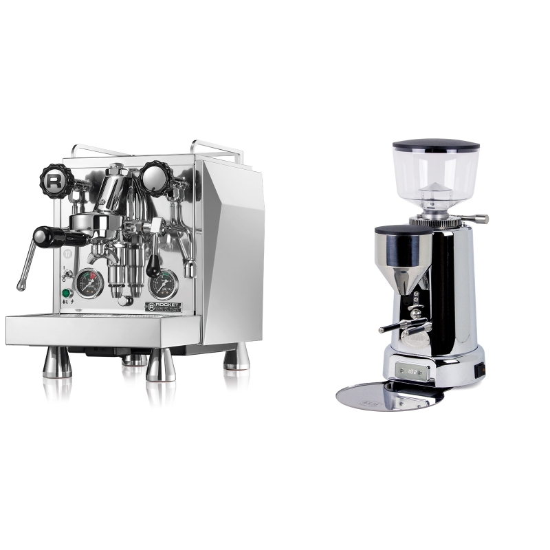 Rocket Espresso Giotto Cronometro R + ECM V-Titan 64
