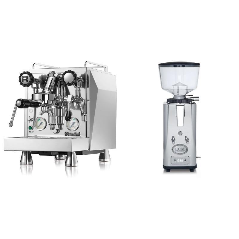 Rocket Espresso Giotto Cronometro V + ECM S-Automatik 64