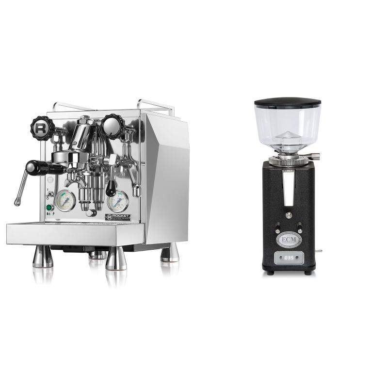 Rocket Espresso Giotto Cronometro V + ECM S-Automatik 64, anthracite