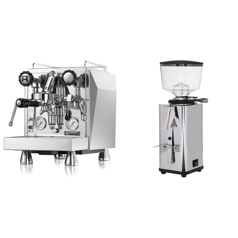 Rocket Espresso Giotto Cronometro V + ECM S-Manuale 64
