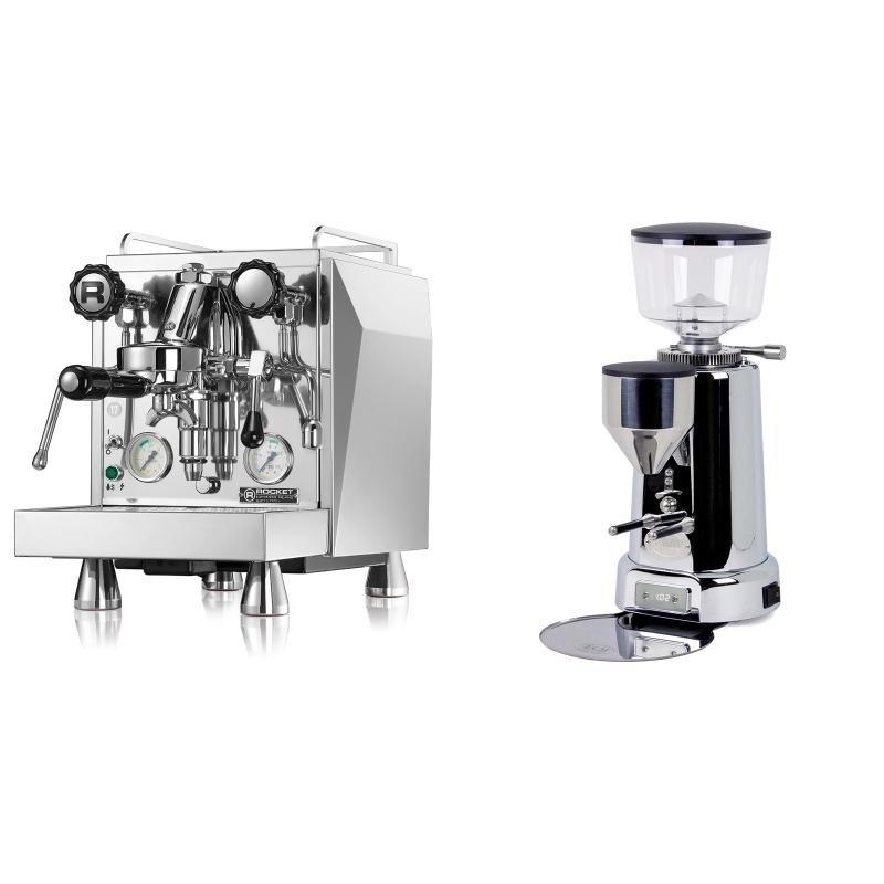 Rocket Espresso Giotto Cronometro V + ECM V-Titan 64