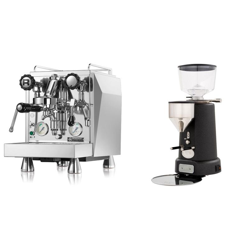 Rocket Espresso Giotto Cronometro V + ECM V-Titan 64, anthracite