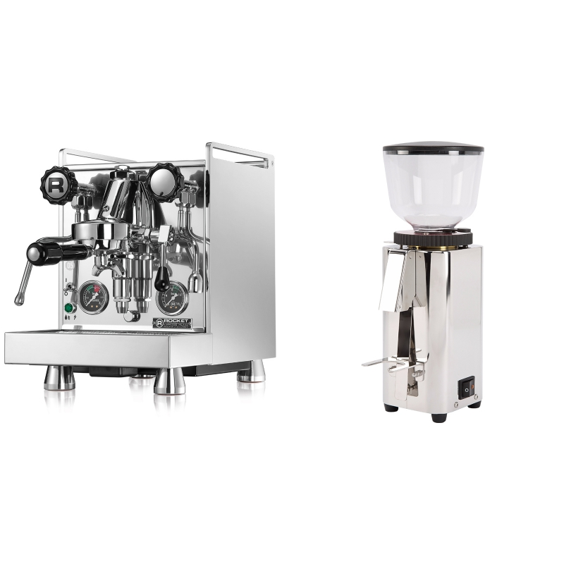 Rocket Espresso Mozzafiato Cronometro R + ECM C-Manuale 54