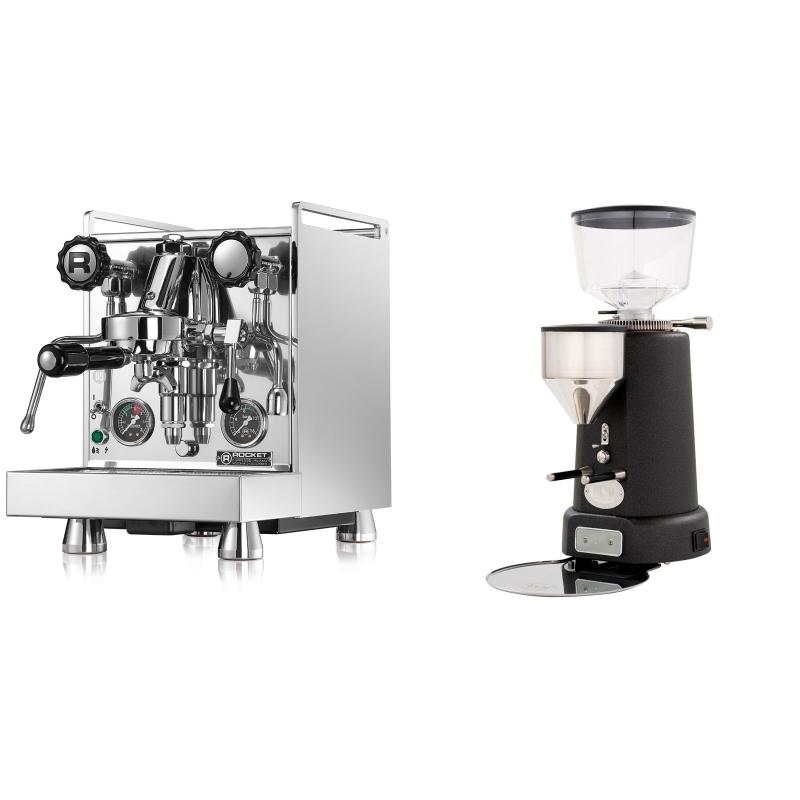 Rocket Espresso Mozzafiato Cronometro R + ECM V-Titan 64, anthracite