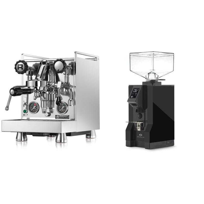 Rocket Espresso Mozzafiato Cronometro R + Eureka Mignon Specialita, BL black