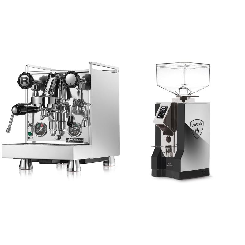 Rocket Espresso Mozzafiato Cronometro R + Eureka Mignon Specialita, NX black