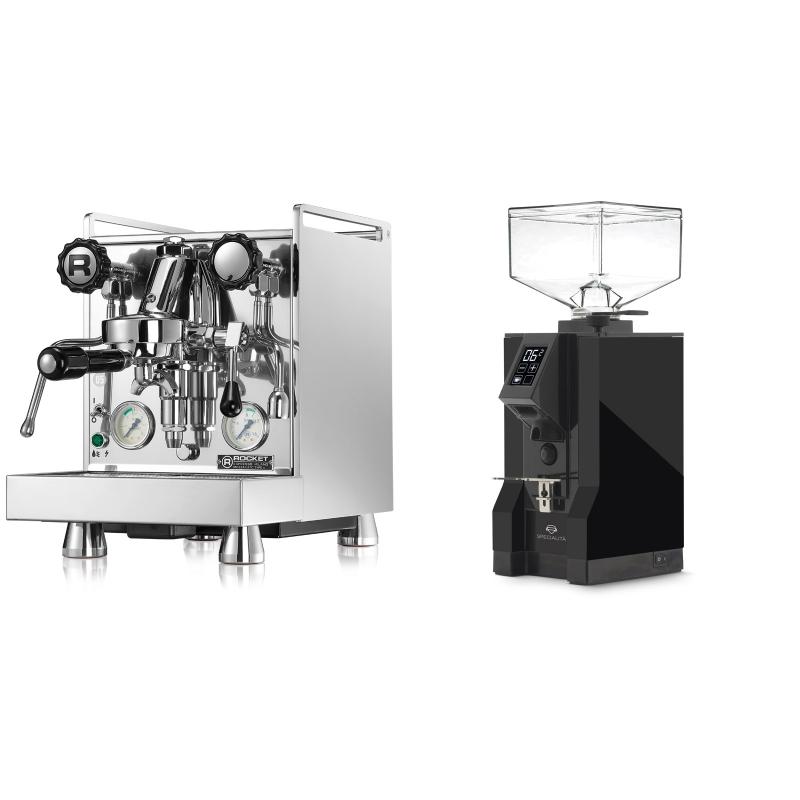 Rocket Espresso Mozzafiato Cronometro V + Eureka Mignon Specialita, BL black