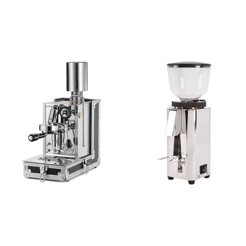 Rocket Espresso Porta Via + ECM C-Manuale 54