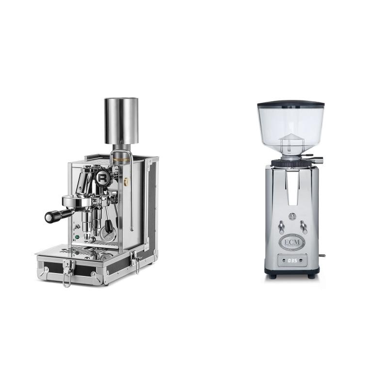 Rocket Espresso Porta Via + ECM S-Automatik 64