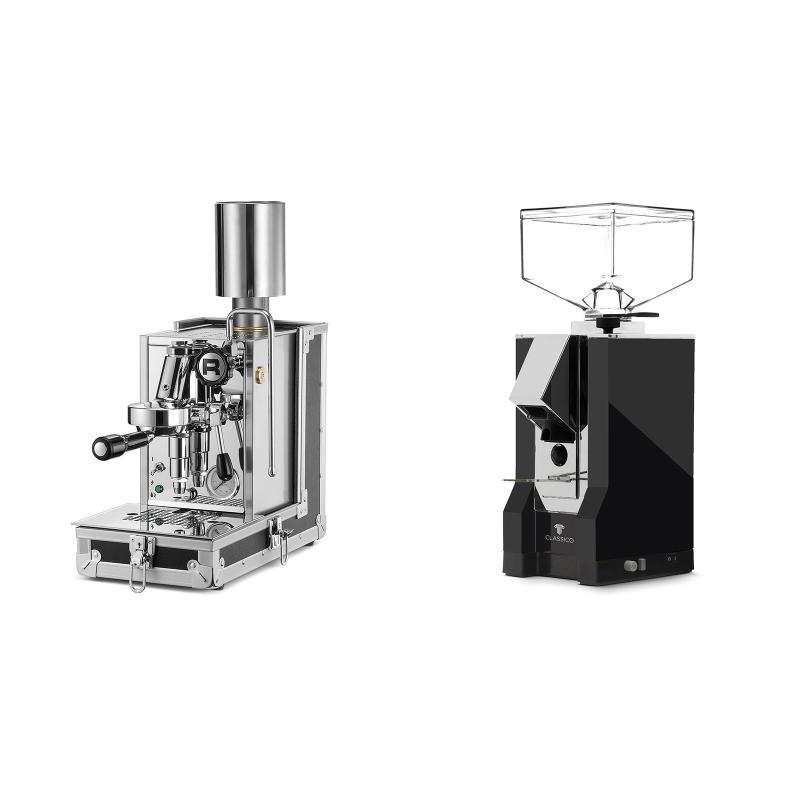 Rocket Espresso Porta Via + Eureka Mignon Classico, CR black