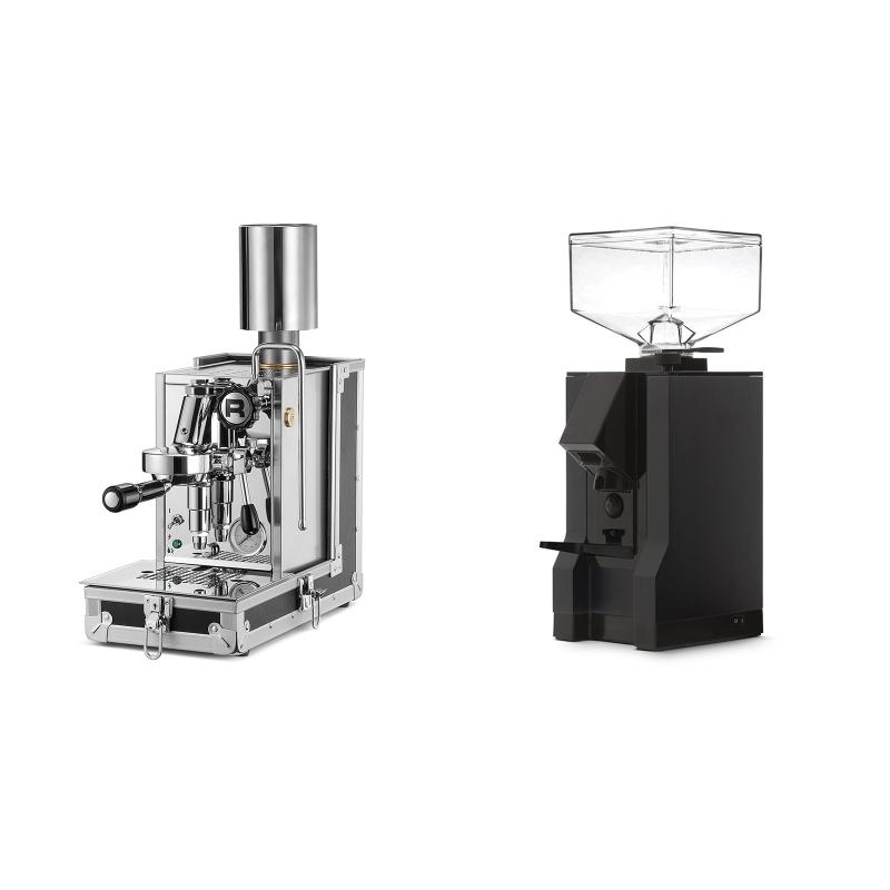 Rocket Espresso Porta Via + Eureka Mignon Manuale, BL black