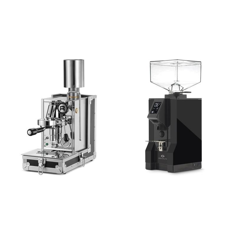Rocket Espresso Porta Via + Eureka Mignon Specialita, BL black