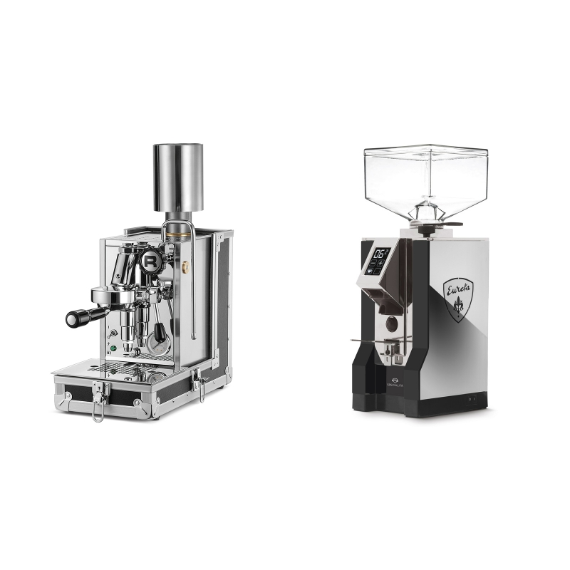 Rocket Espresso Porta Via + Eureka Mignon Specialita, NX black