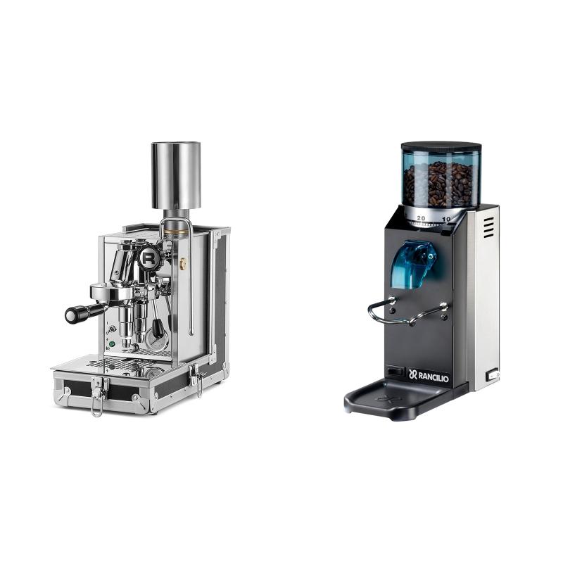 Rocket Espresso Porta Via + Rancilio Rocky Doserless