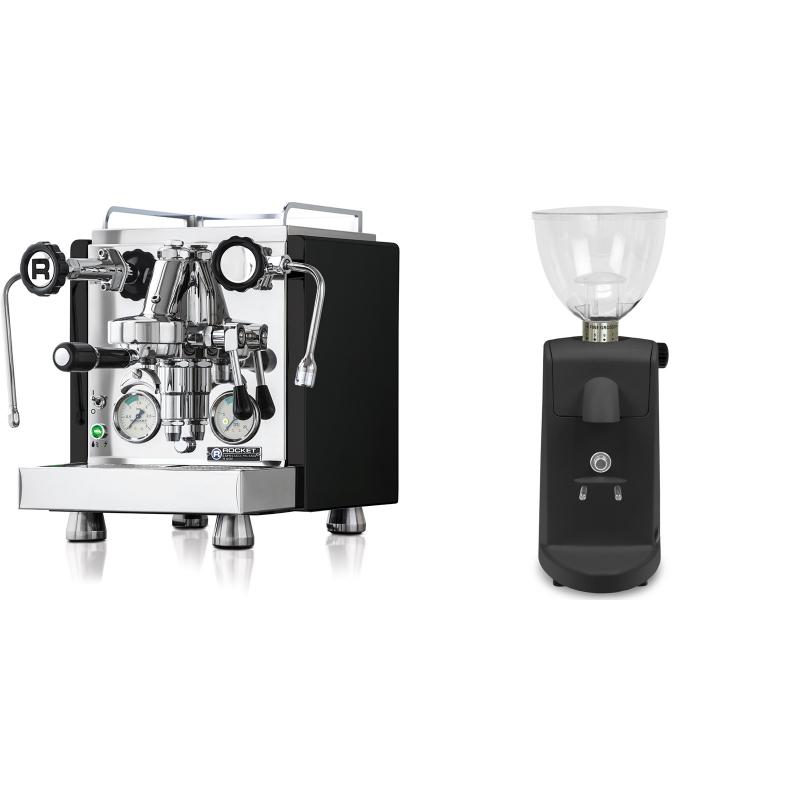 Rocket Espresso R 60V, černá + Ascaso i-mini i1, černá