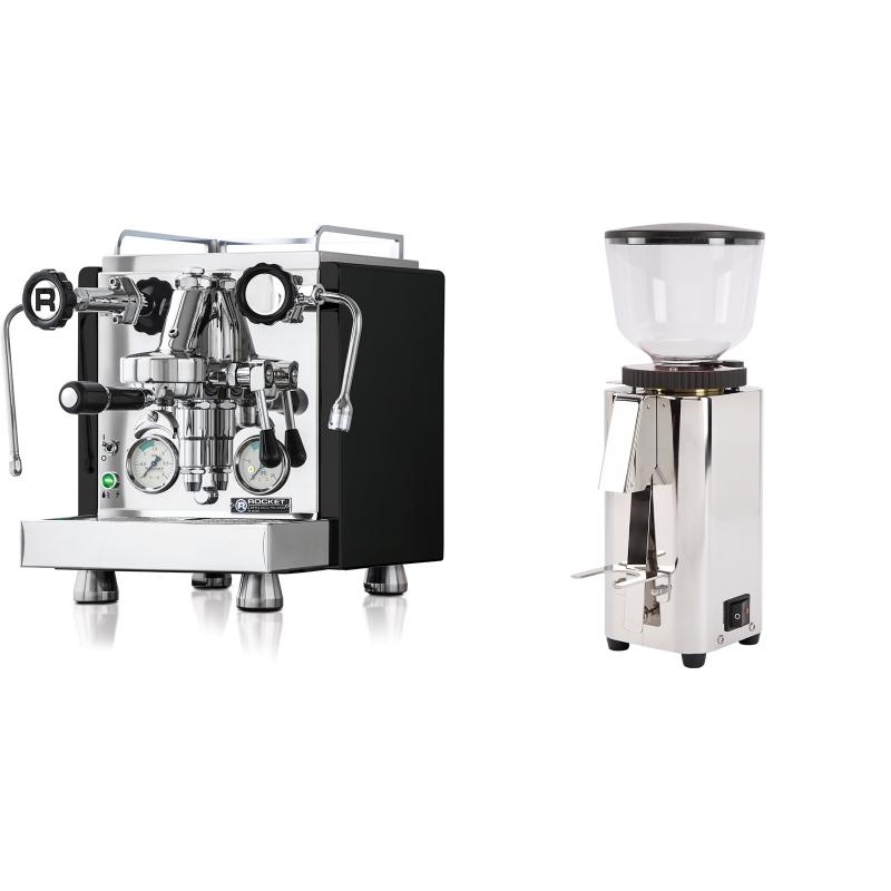 Rocket Espresso R 60V, černá + ECM C-Manuale 54