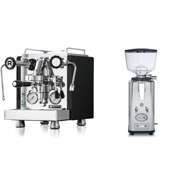 Rocket Espresso R 60V, černá + ECM S-Automatik 64