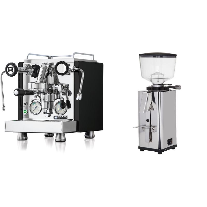 Rocket Espresso R 60V, černá + ECM S-Manuale 64