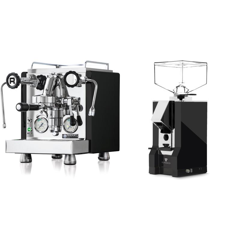 Rocket Espresso R 60V, černá + Eureka Mignon Classico, CR black