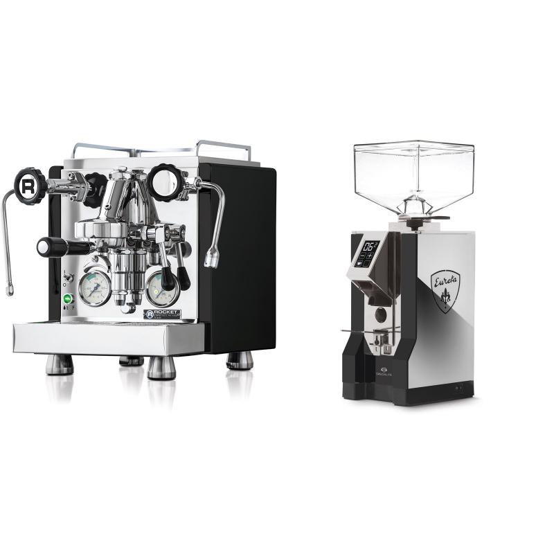 Rocket Espresso R 60V, černá + Eureka Mignon Specialita, NX black