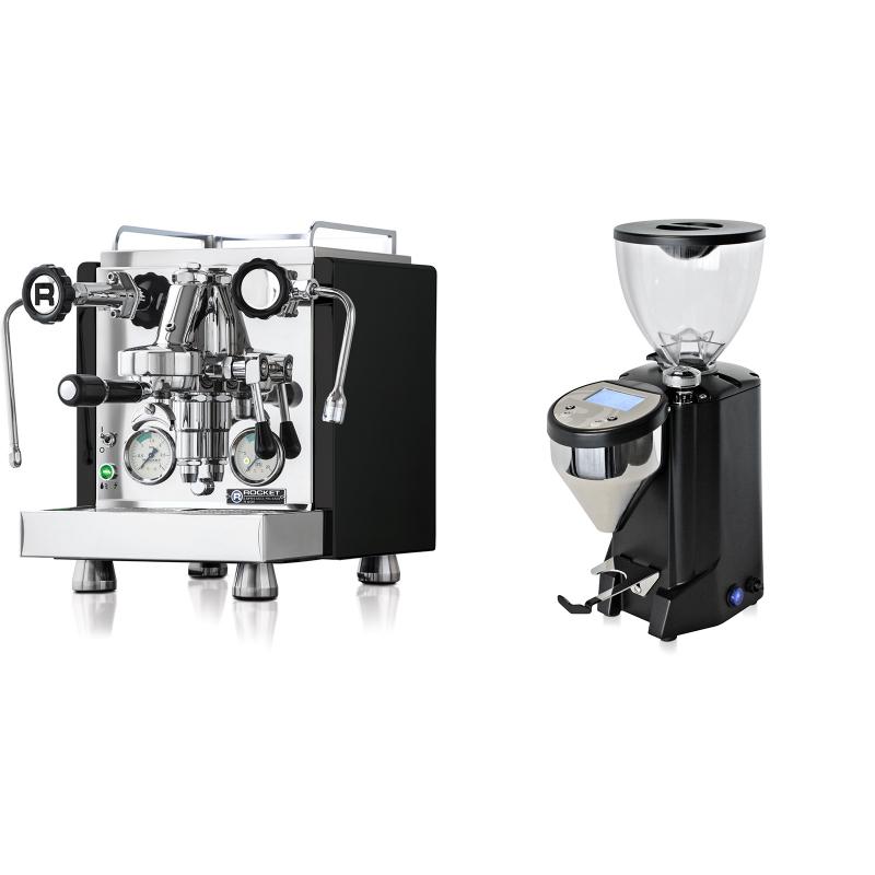 Rocket Espresso R 60V, černá + Rocket Espresso FAUSTO, černý