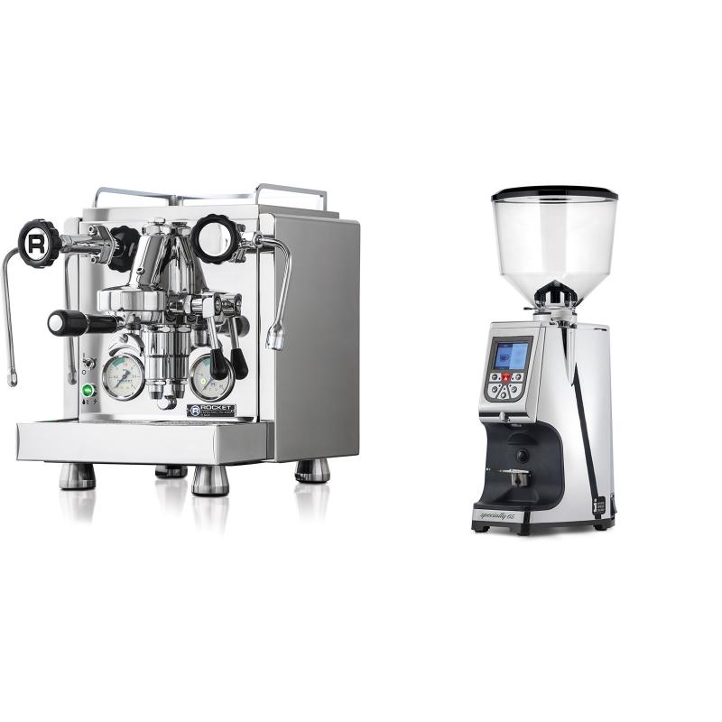 Rocket Espresso R 60V + Eureka Atom Specialty 65, chrome