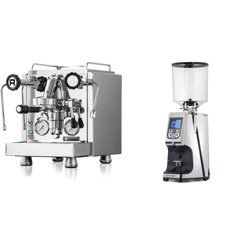 Rocket Espresso R 60V + Eureka Atom Specialty 75, chrome