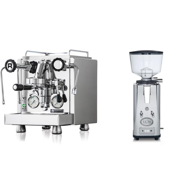 Rocket Espresso R 60V + ECM S-Automatik 64