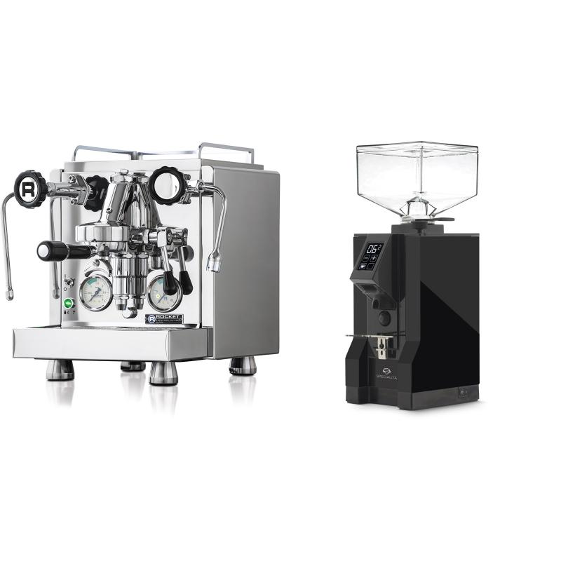 Rocket Espresso R 60V + Eureka Mignon Specialita, BL black
