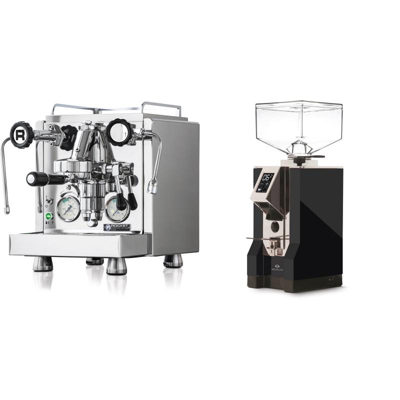 Rocket Espresso R 60V + Eureka Mignon Specialita, CR black