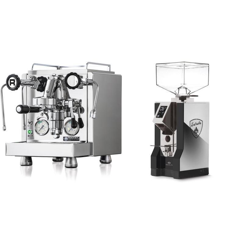 Rocket Espresso R 60V + Eureka Mignon Specialita, NX black
