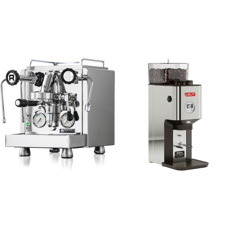 Rocket Espresso R 60V + Lelit William PL72-P