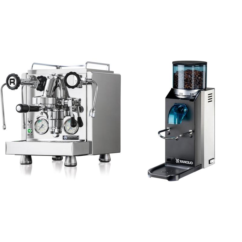 Rocket Espresso R 60V + Rancilio Rocky Doserless