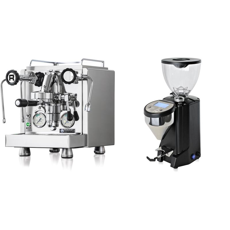 Rocket Espresso R 60V + Rocket Espresso FAUSTO, černý