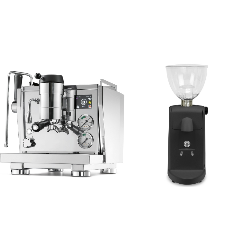 Rocket Espresso R NINE ONE + Ascaso i-mini i1, černá