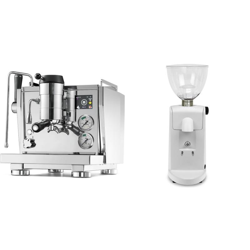 Rocket Espresso R NINE ONE + Ascaso i-mini i1, bílá
