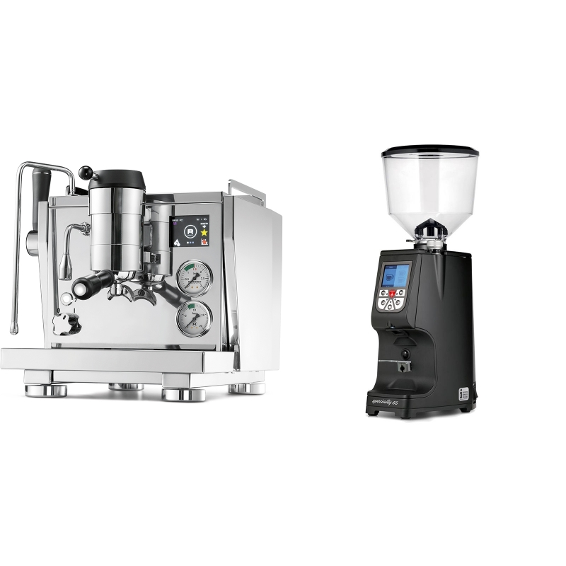 Rocket Espresso R NINE ONE + Eureka Atom Specialty 65, black