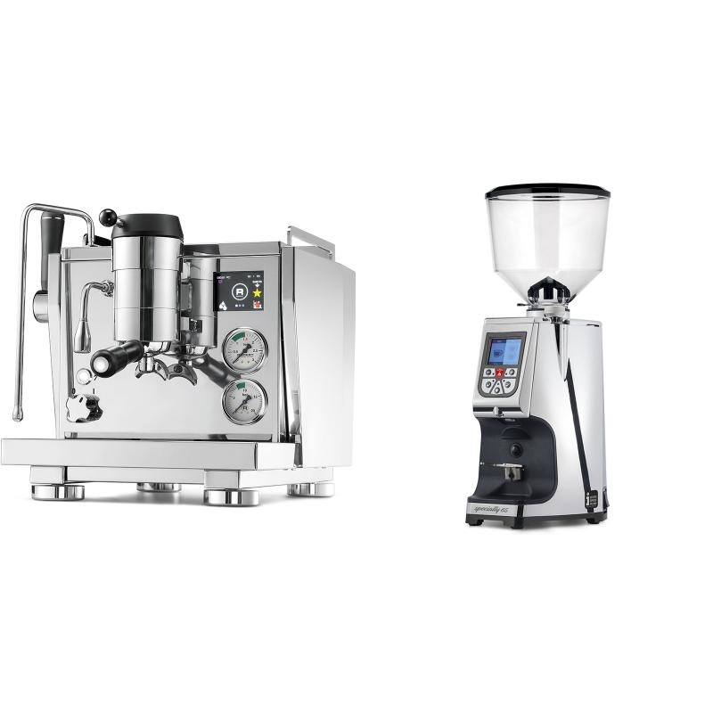 Rocket Espresso R NINE ONE + Eureka Atom Specialty 65, chrome