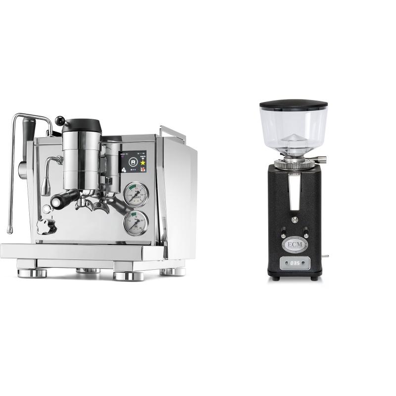 Rocket Espresso R NINE ONE + ECM S-Automatik 64, anthracite
