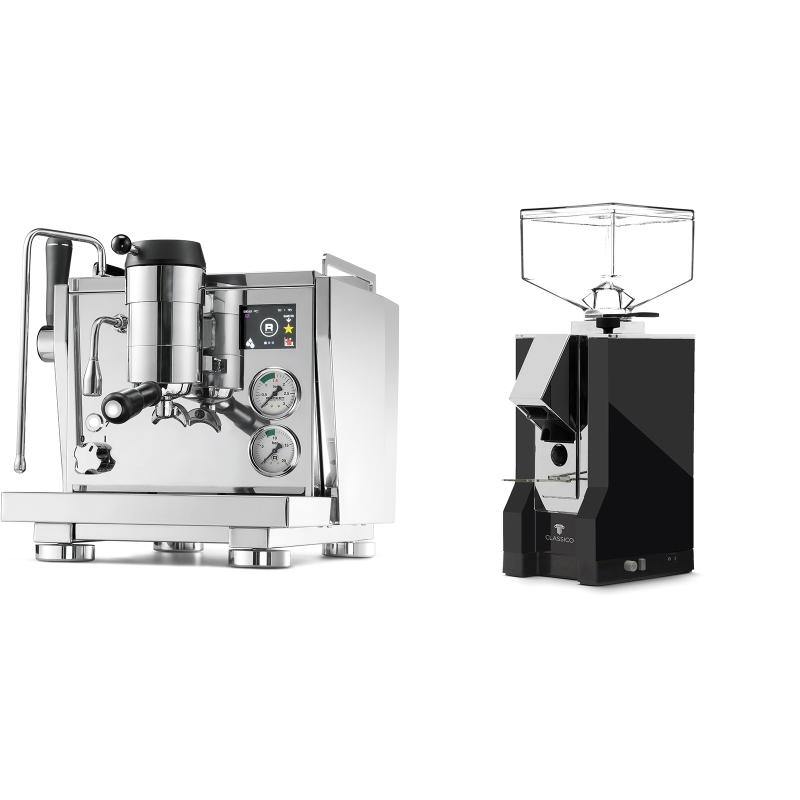 Rocket Espresso R NINE ONE + Eureka Mignon Classico, CR black
