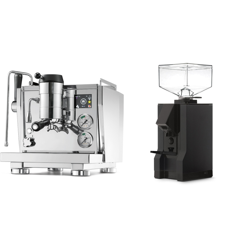 Rocket Espresso R NINE ONE + Eureka Mignon Manuale, BL black