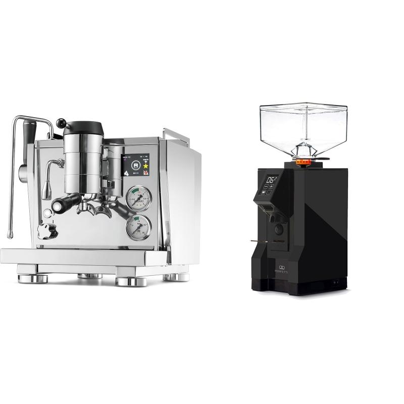 Rocket Espresso R NINE ONE + Eureka Mignon Perfetto, BL black