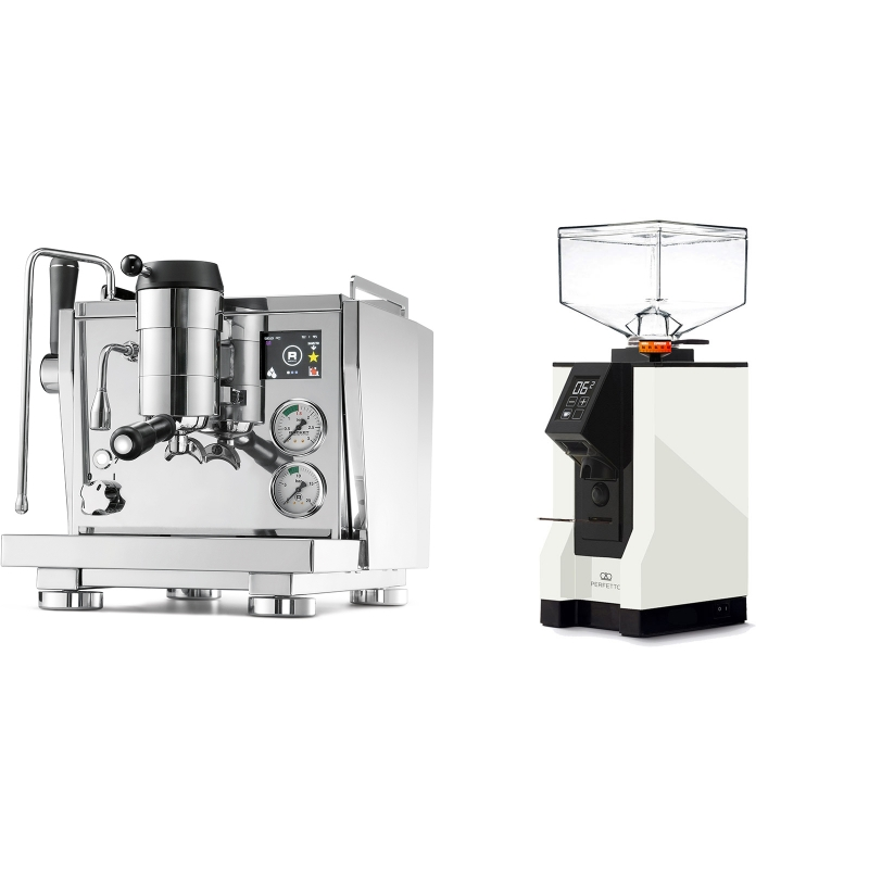 Rocket Espresso R NINE ONE + Eureka Mignon Perfetto, BL white