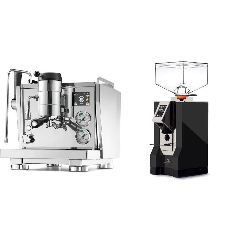Rocket Espresso R NINE ONE + Eureka Mignon Perfetto, CR black