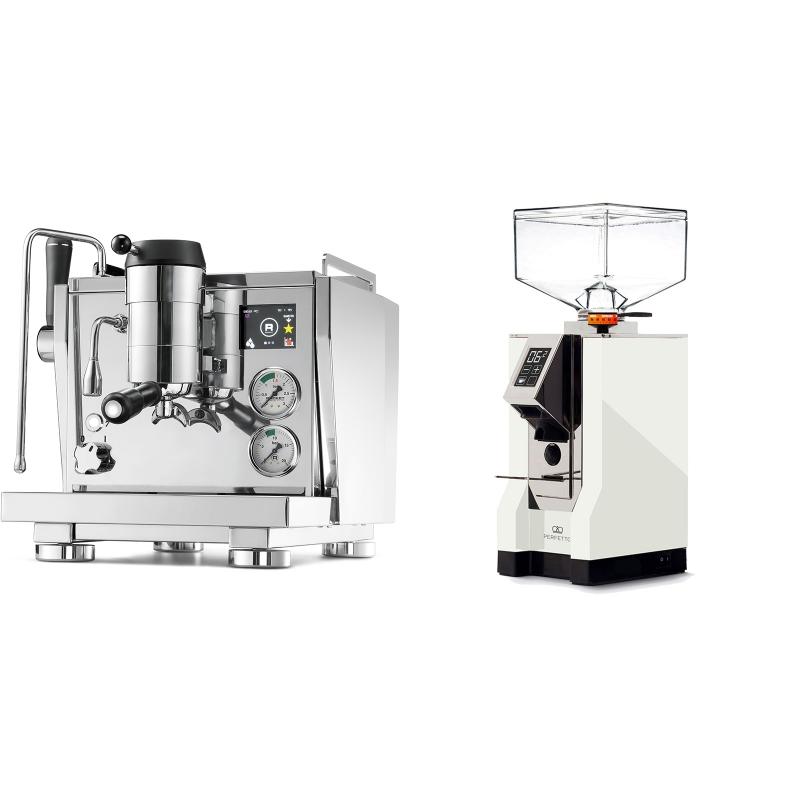 Rocket Espresso R NINE ONE + Eureka Mignon Perfetto, CR white