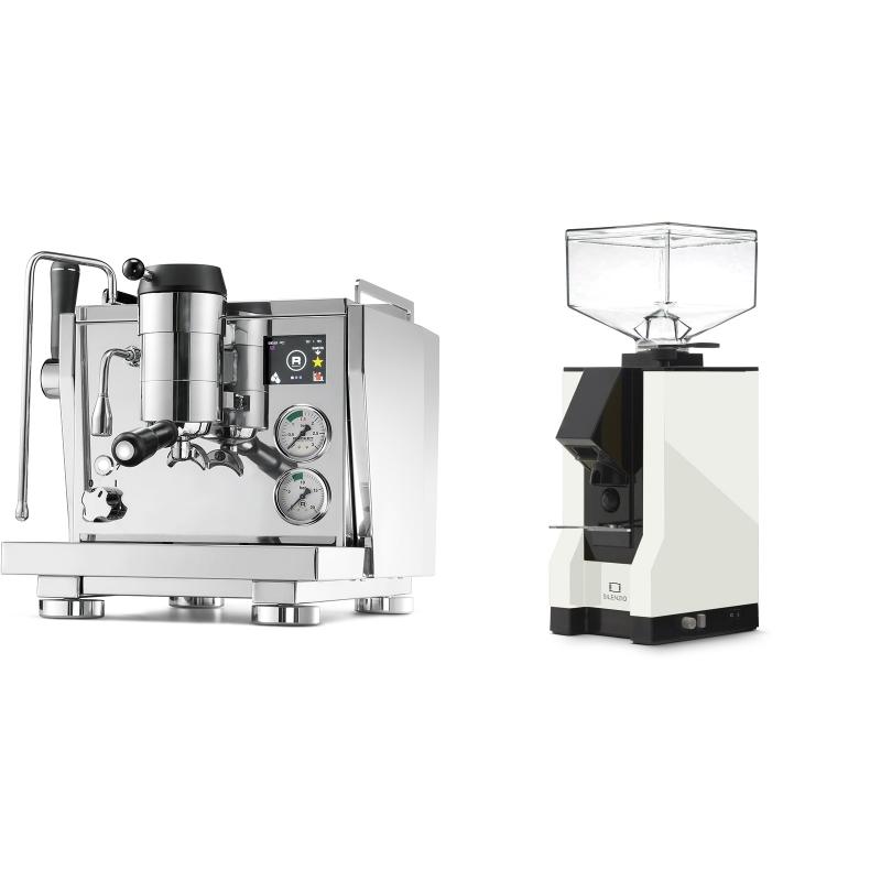 Rocket Espresso R NINE ONE + Eureka Mignon Silenzio, BL white