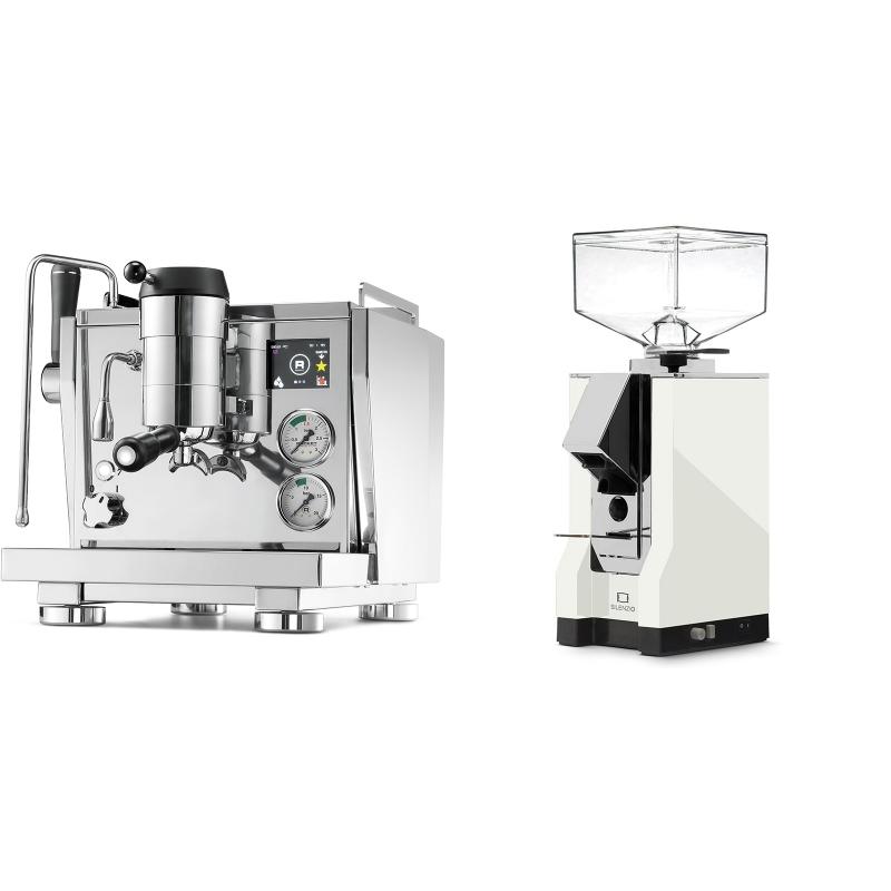 Rocket Espresso R NINE ONE + Eureka Mignon Silenzio, CR white