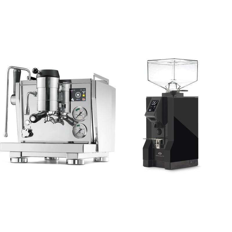 Rocket Espresso R NINE ONE + Eureka Mignon Specialita, BL black