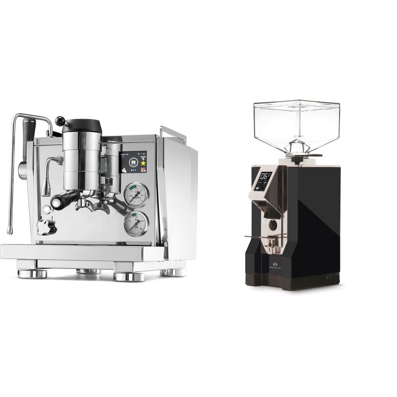 Rocket Espresso R NINE ONE + Eureka Mignon Specialita, CR black