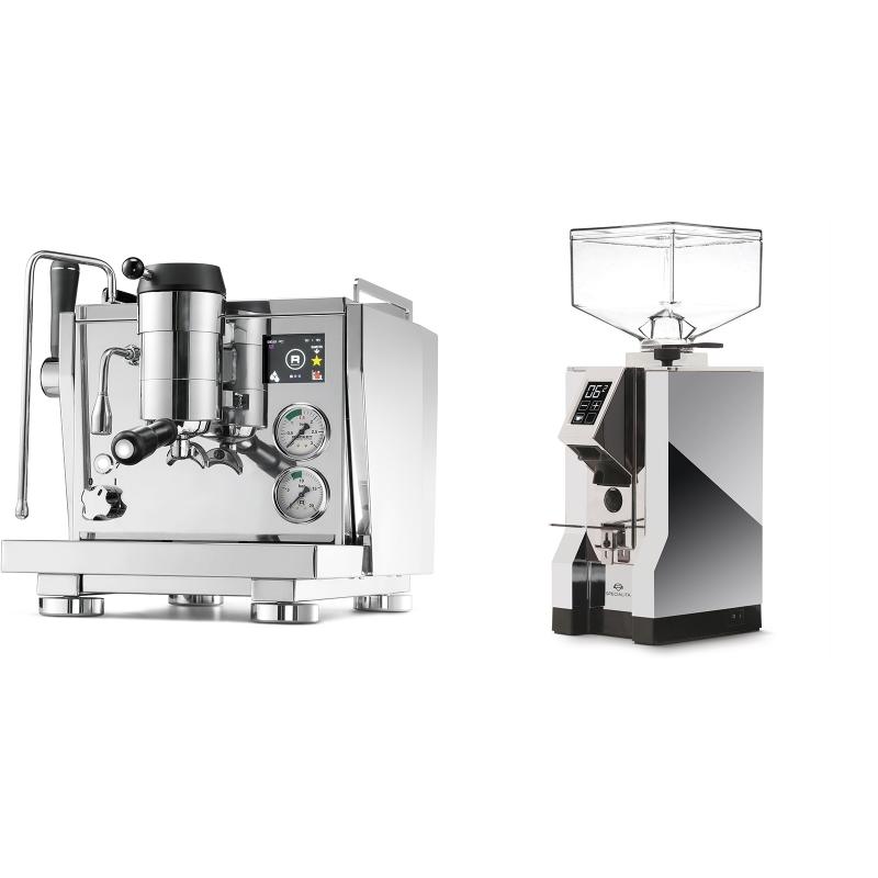 Rocket Espresso R NINE ONE + Eureka Mignon Specialita, CR chrome